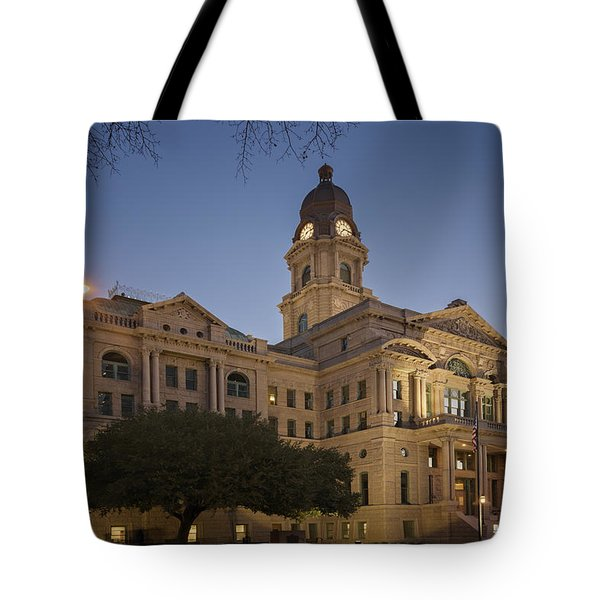 Tarrant County Courthouse Rebirth Tote Bag