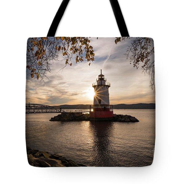 Tarrytown Lighthouse Tote Bag