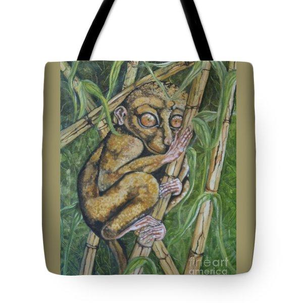 Tarsier Tote Bag
