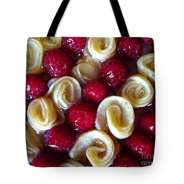 Tote Bag featuring the photograph Tart by Sylvie Leandre