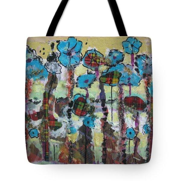 Tartan Garden Tote Bag