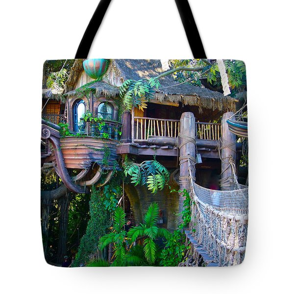 Tarzan Treehouse Tote Bag