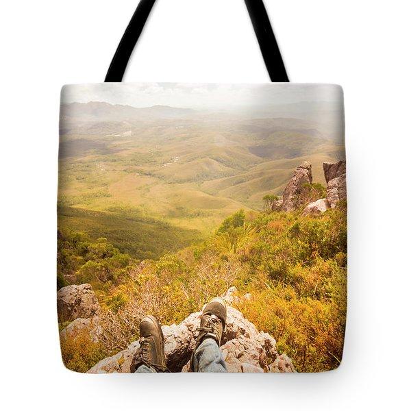 Tasmania Bushwalking Views Tote Bag