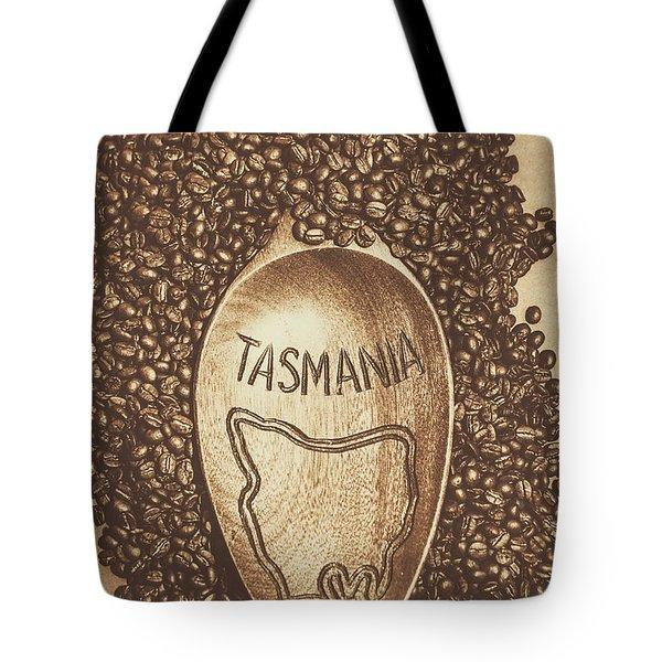 Tasmania Coffee Beans Tote Bag