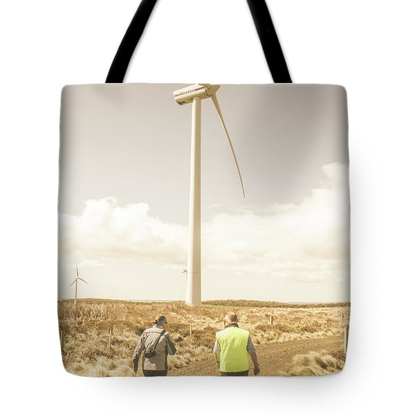 Tasmania Turbine Tours Tote Bag