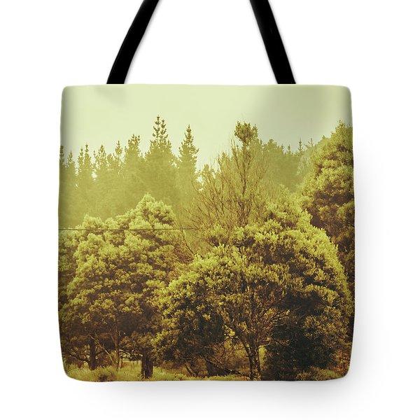 Tasmanian Grassland Details Tote Bag