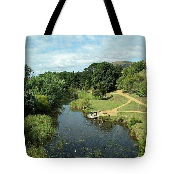 Tasmanian Landscape Tote Bag