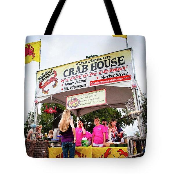 Taste Of Charleston Tote Bag