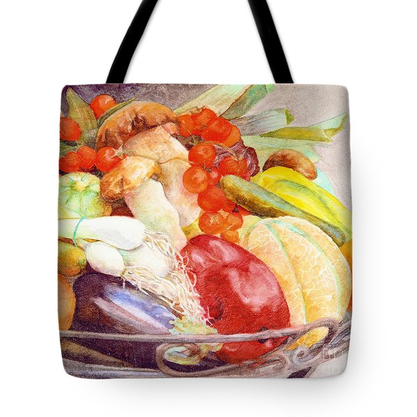 Tastes Of Tuscany Tote Bag