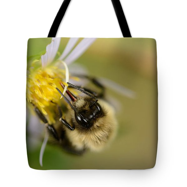 Tasting The Flower Tote Bag