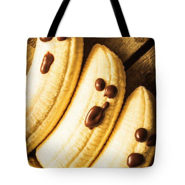 Tasty Healthy Halloween Treats For Kids Tote Bag