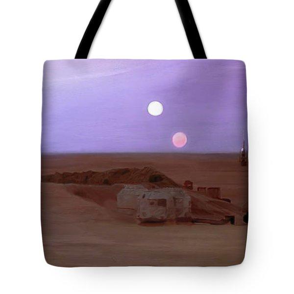 Tatooine Sunset Tote Bag