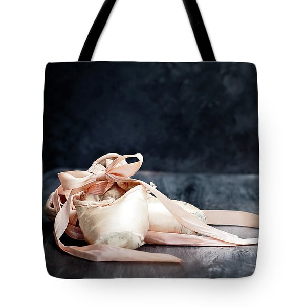 Tattered Ballerina Slippers Tote Bag
