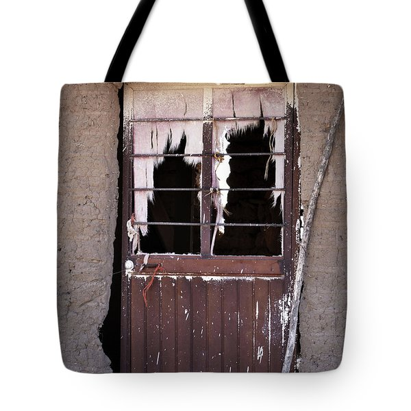 Tattered Curtains Tote Bag