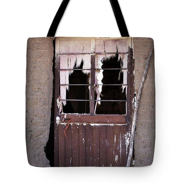 Tattered Curtains Tote Bag by Nadalyn Larsen