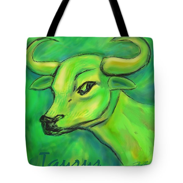 Taurus Tote Bag