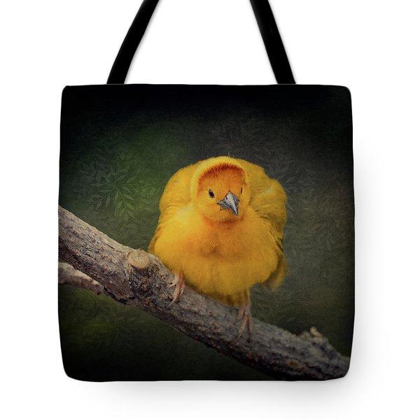 Taveta Golden Weaver  Tote Bag