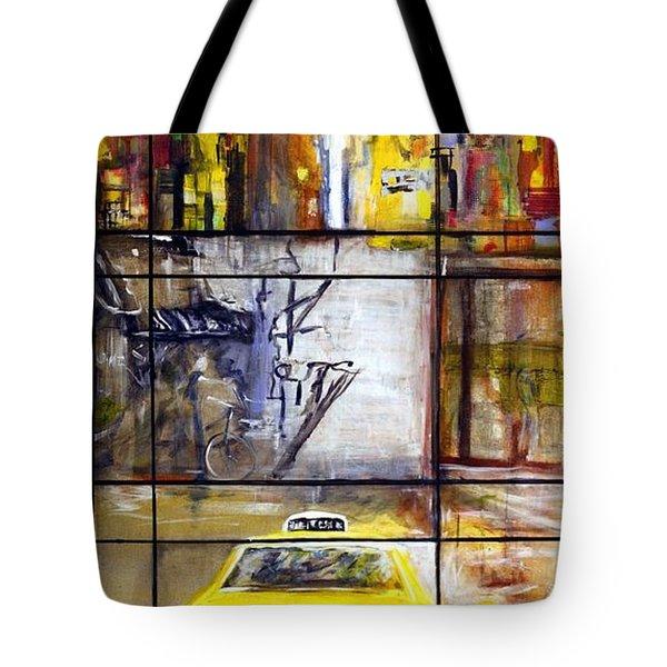 Taxi 7 Tote Bag