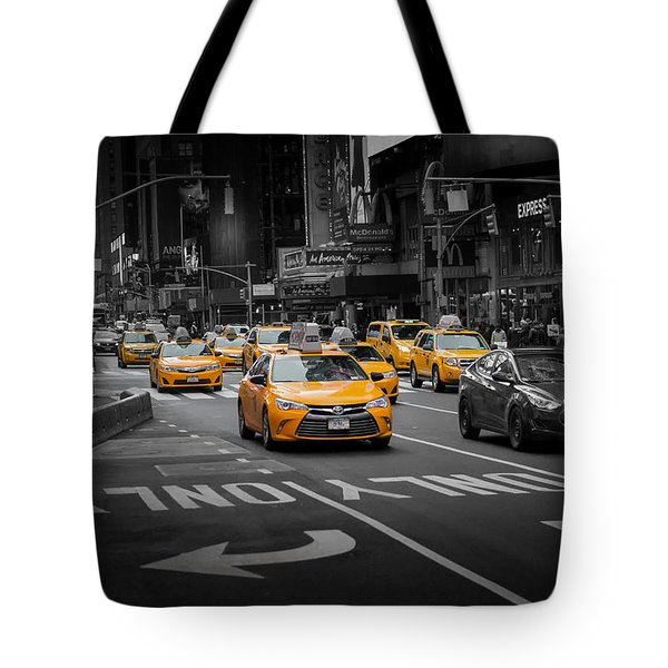 Taxi Please Tote Bag