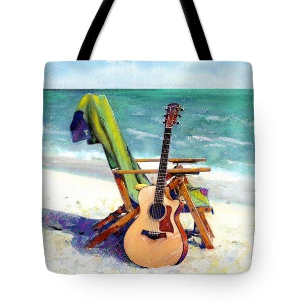 Taylor At The Beach Tote Bag