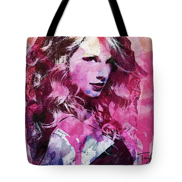 Taylor Swift - Oncore Tote Bag by Sir Josef - Social Critic - ART