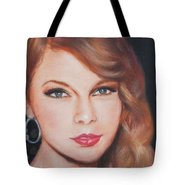 Taylor Swift  Tote Bag by Ronnie Melvin