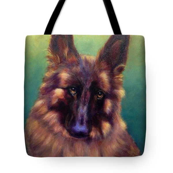 Tote Bag featuring the painting Tayto by Sarah Farren