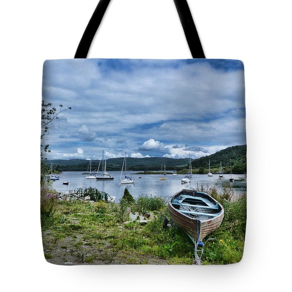 Tayvallich Harbour Tote Bag