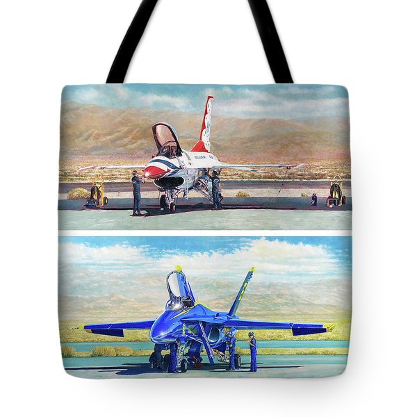 Tbirds And Angels Maintenance Tote Bag