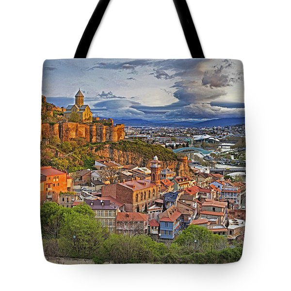 Tblisi Dawn Tote Bag
