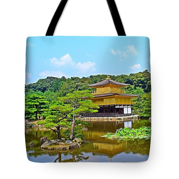 #tbt Wish I Was Back In #kyoto #japan Tote Bag