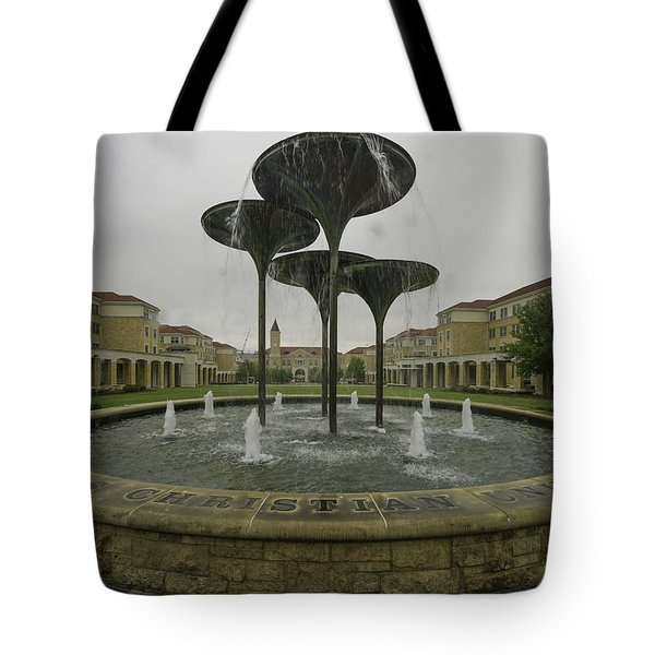 Tcu Campus Commons Tote Bag