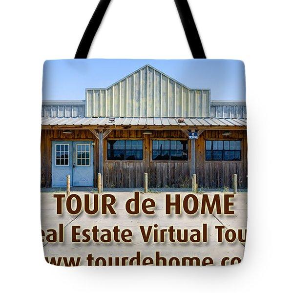 Tour De Home Ad Tote Bag