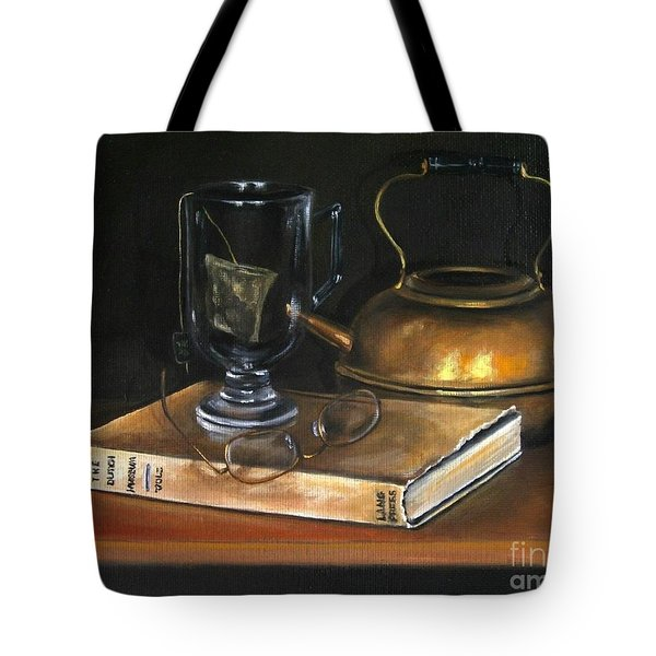 Tea Break Tote Bag
