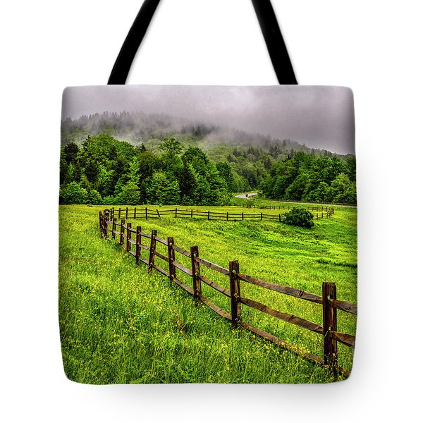 Tea Creek Meadow And Buttercups Tote Bag