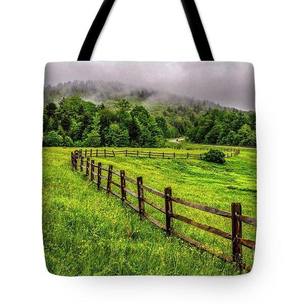 Tea Creek Meadow And Buttercups Tote Bag