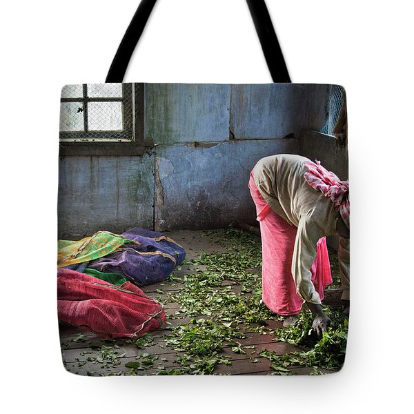 Tea Factory Tote Bag by Marion Galt