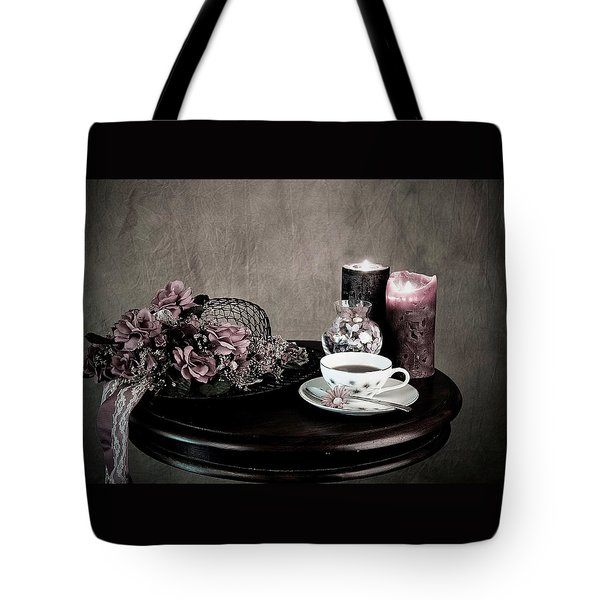 Tea Party Time Tote Bag