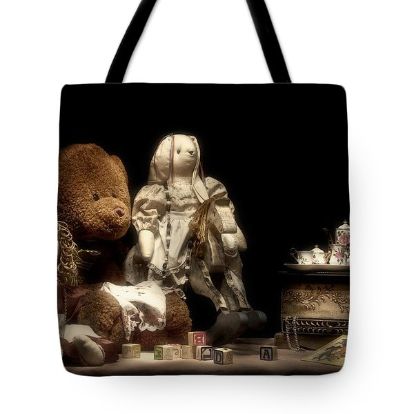 Tea Party Tote Bag