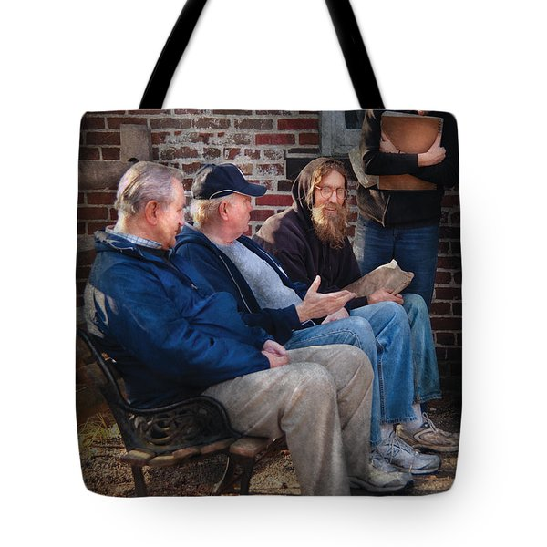Teacher - The Scholars Tote Bag by Mike Savad