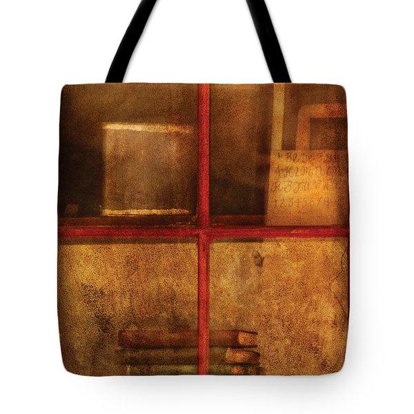 Teacher - School Books Tote Bag by Mike Savad