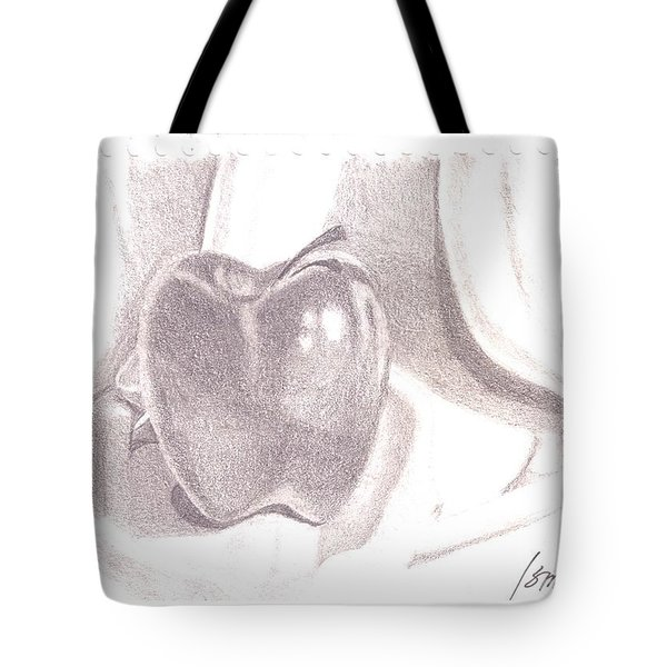 Tote Bag featuring the drawing Teacher's Pet by Rod Ismay