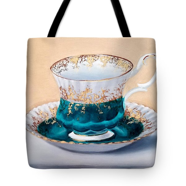 Teacup Tote Bag