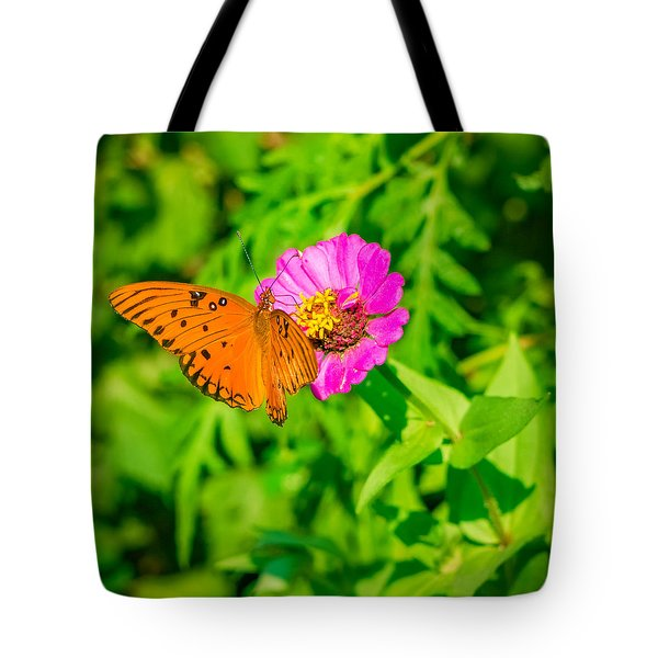 Teacup The Butterfly Tote Bag