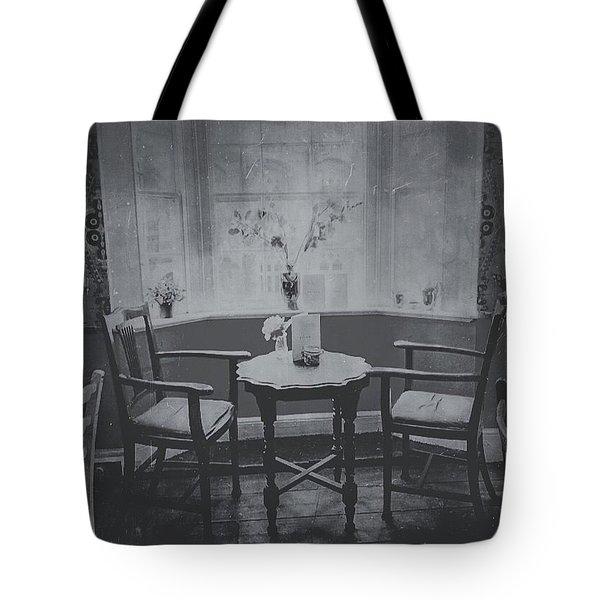 Teahouse Tote Bag