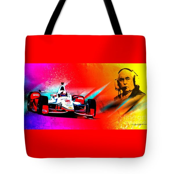 Team Penske Tote Bag