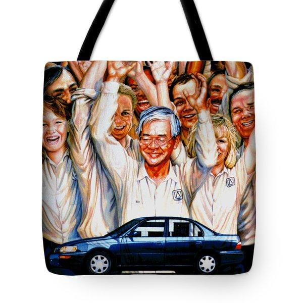 Team Toyota Tote Bag
