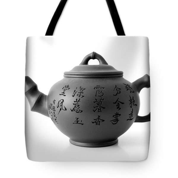 Teapot Tote Bag by Gina Dsgn