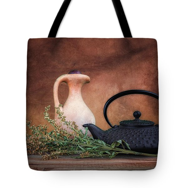 Teapot With Pitcher Still Life Tote Bag