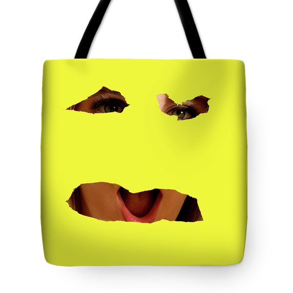 Tear Out Tote Bag